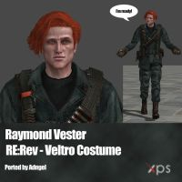Raymond Vester RE:Rev Veltro Costume by Adngel