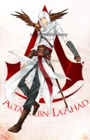 Altair Ibn -La'Ahad by WXYZell