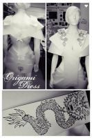 origami dress by izy-billie