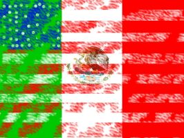 America And Mexico by LuxordOwnsMeh16