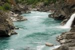NZ Blue river close up by Chunga-Stock