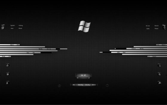 Rainmeter skins favourites by hodgepodgejunk on deviantart for Bureau windows 7 rainmeter