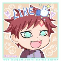 Gaara: My FB fan page opened by lilacerise
