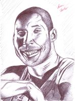 Kobe Bryant Caricature by Ghost21501