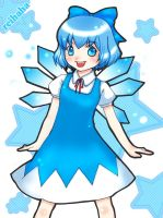 cirno by reihaha