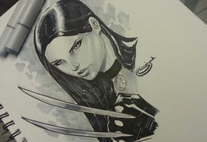 X23 sketchbook copic marker by Sajad126