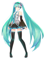MMD| Miku Hatsune V2 YoiStyle | DL by adan-official