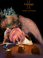 Goddes of intoxication by Sapphire8039