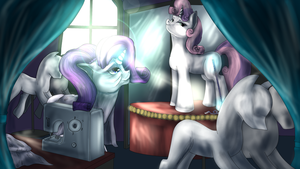 Preping for the Galla by BlindCoyote