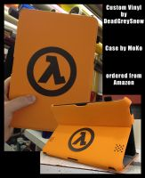 Half Life decal on Kindle Fire HD Case by DeadGreySnow