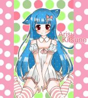 Arisu Kitsune Mascot Drawing Entry by AnimexL0ver17
