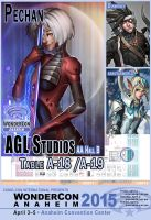 AGL Studios at WonderCon 2015 by Pechan