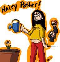 Hairy Potter... the truth by forevergeek