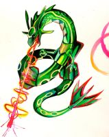 Rayquaza by Lucky978
