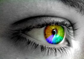 Rainbow Eye by XxXXBubbblesXXxX