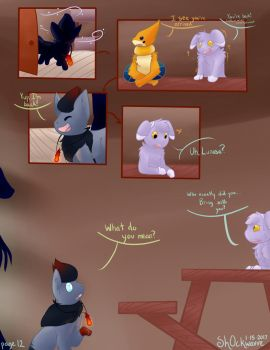 ToI comic - page 12 - Who by Sh0ckwavve