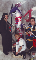 Kingdom Hearts Group Shot by CeruleanTwin