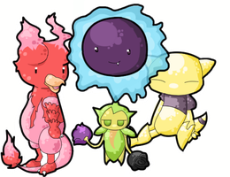 My Shinies by JellyTheTangrowth