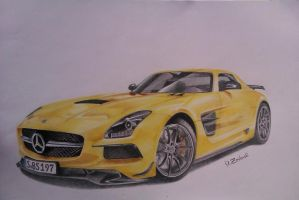 Mercedes SLS by dzart3