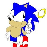 old school sonic by ronuto21