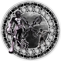 Vanitas Remnant Stained Glass by Maleficent84