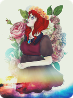The Rose Princess. by Dama-Rossa