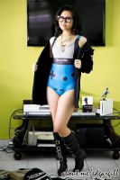 Geek Girl - BlackMilk Gamer by jnalye
