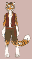 little tiger- sold by amagicaltale