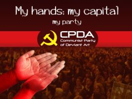 My hands: my capital - CPDA by delatorre-politik