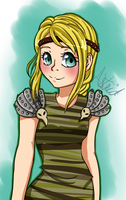 .:HTTYD - Astrid:. by EriaHime