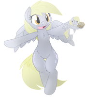 Derp and Derpy by Fluffle-Puffz