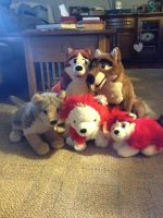 Balto family by TwinTowergal
