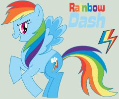 Rainbow Dash by Percyfan94