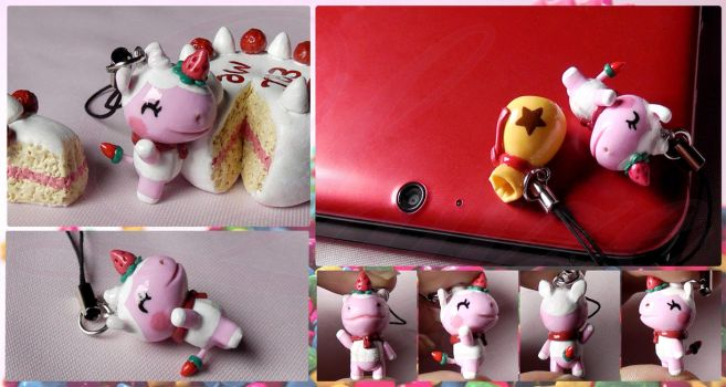 Merengue Charm - Animal Crossing by LayzeMichelle