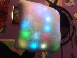Bright light pillow by GolfingQueen