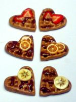 Mini Fruit Waffles by sississweets