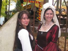 A Wench and a Lady by sweeterpsyche