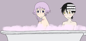 KidxCrona day 1- bubble baths by sillywall
