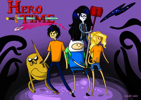 Hero Time, v 2.0 by Super-Jelly