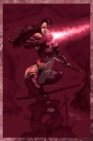 Psylocke 2 by Philip Tan by StephenSchaffer