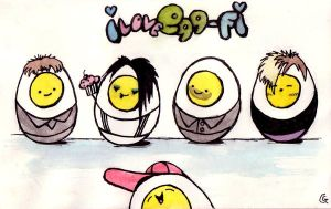 I love Egg-FI by Anarchpeace