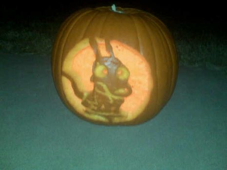 Rocko Pumpkin 2 by kero351