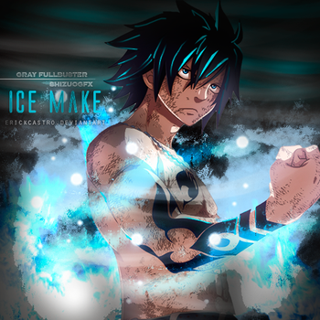 gray fullbuster ice make by Erickcastro