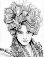 Effie Trinket  The Hunger Games by TheNightGallery