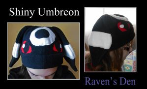 FOR SALE: Shiny Umbreon Hat by ravenden