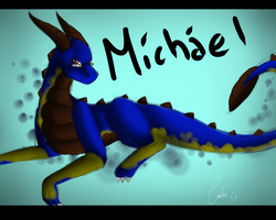 Michael by BlueDragonsBum