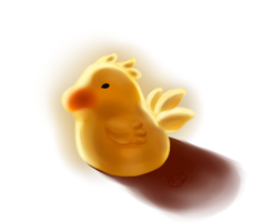 Chocobo by KTy-cat