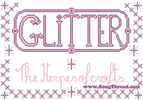 Glitter the herpes of crafts by SongThread
