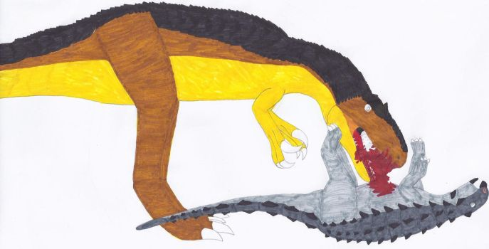 A still overlooked giant theropod by RickRaptor105