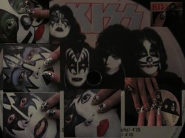 KISS - The Naildesign by L-Rickman-Depp